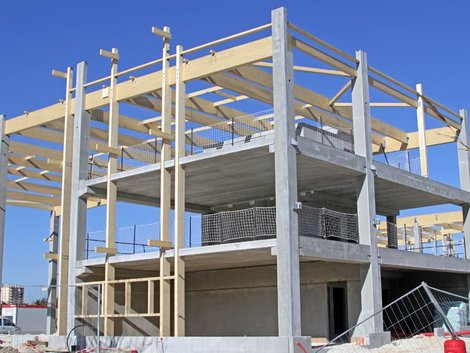 Holzständerbauweise, Baustelle, Foto: illustrez-vous / stock.adobe.com