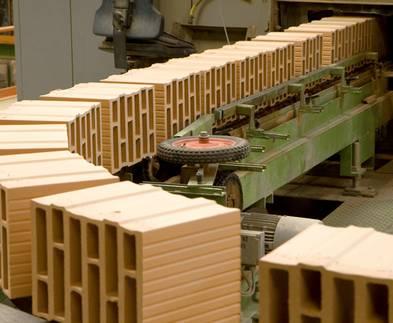 Ziegelsteine, Ziegelproduktion, Brennofen, Foto: Ziegelwerk Bellenberg