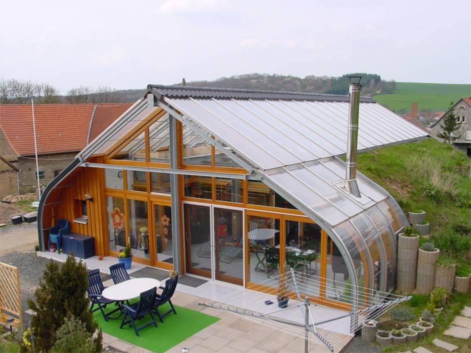 Bio Solar Haus, Haus im Wintergarten, Foto: www.bio-solar-haus.de