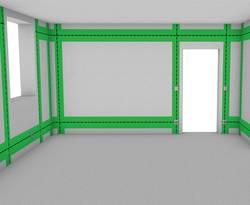 elektroinstallation vom sicherungskasten zu steckdose. Black Bedroom Furniture Sets. Home Design Ideas
