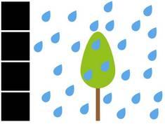 Wasserglas, Außenwand, wasserdicht, Baum, Grafik: bauen.de