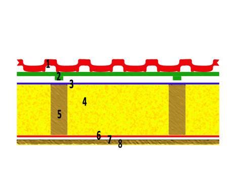 Zwischensparrendämmung, Dachdämmung, Grafik: I. Haag