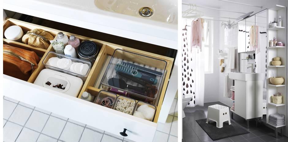 Bad renovieren, Badrenovierung, Badezimmer modernisieren, Stauraum, Fotos: Inter IKEA Systems B.V. 2015