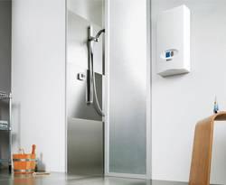 Wasserboiler, Durchlauferhitzer, Warmwasser, Warmwasserbereitung, Foto: Vaillant