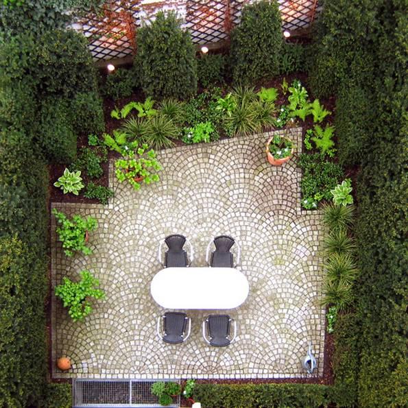 Kleiner Garten, Foto: Terramanus