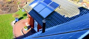 Solarthermie, Solaranlage, Sonnenstrahlen, Wärme, Foto: bildergala / fotolia.de