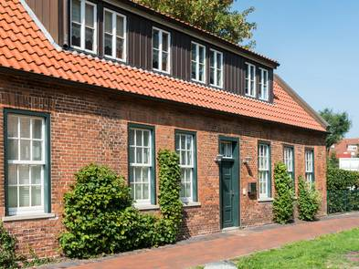 Fassadenkonstruktion, altes Haus mit verklinkerter Fassade, Foto: Eberhard / fotolia.de