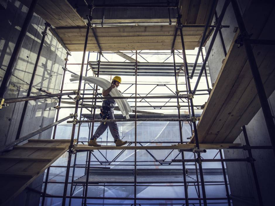 Baustelleneinrichtung, Arbeitsschutzgesetz, Verkehrssicherungspflicht, Foto: iStock/simonkr