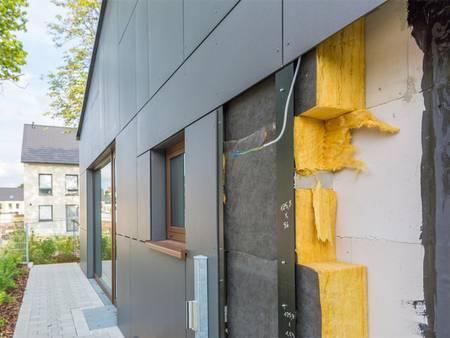 Fassadenkonstruktion, Vorhängfassade, Aluminium, Dämmung, Foto: schulzfoto / fotolia.de