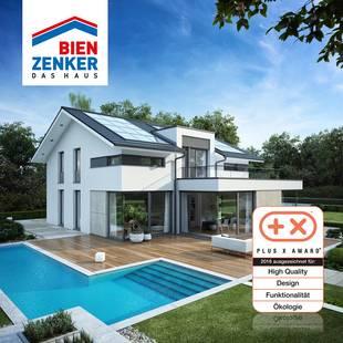Preisgekrönte Hausdesigns, Intensive Beratung, Eingespielte Montageteams, Foto: Bien-Zenker