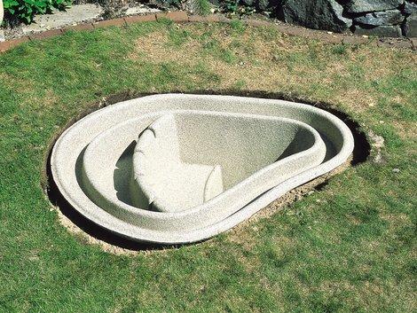 Teich selber bauen, Gartenteich anlegen, Teichwanne