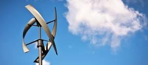 Windenergie, Kleinwindanlage, vertikale Achse, Foto: pifate / iStock
