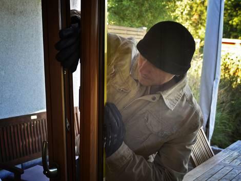 Einbruchschutz, Foto: Polizeiliche Kriminalprävention