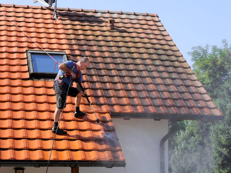 Dachziegel, Pflege und Reinigung, Foto: Marina Lohrbach / stock.adobe.com