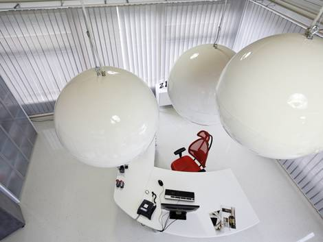 Infrarotheizung, Infrarotstrahler, Kugel, Foto: elektroheizung.com