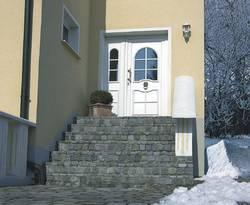 Freiflächenheizung, Treppenheizung, Foto: AEG Haustechnik
