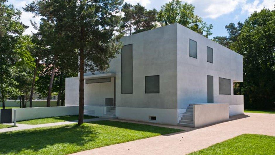 Bauhaus, Bauhausstil, Kubushaus, schräg von der Seite fotografiert, Foto: Stockfotos-MG / stock.adobe.com