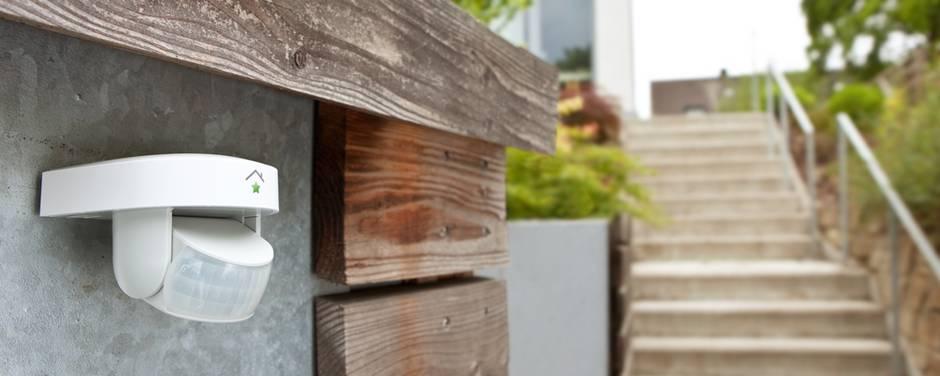 Smart Home, Bewegungsmelder, Haussicherheit, Foto: RWE Images
