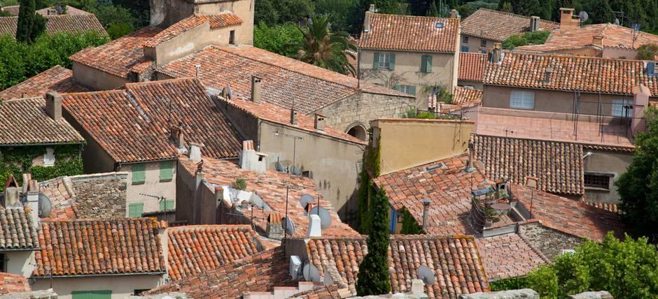 mediterrane Häuser, Dächer, Foto: Kaarsten - fotolia.com