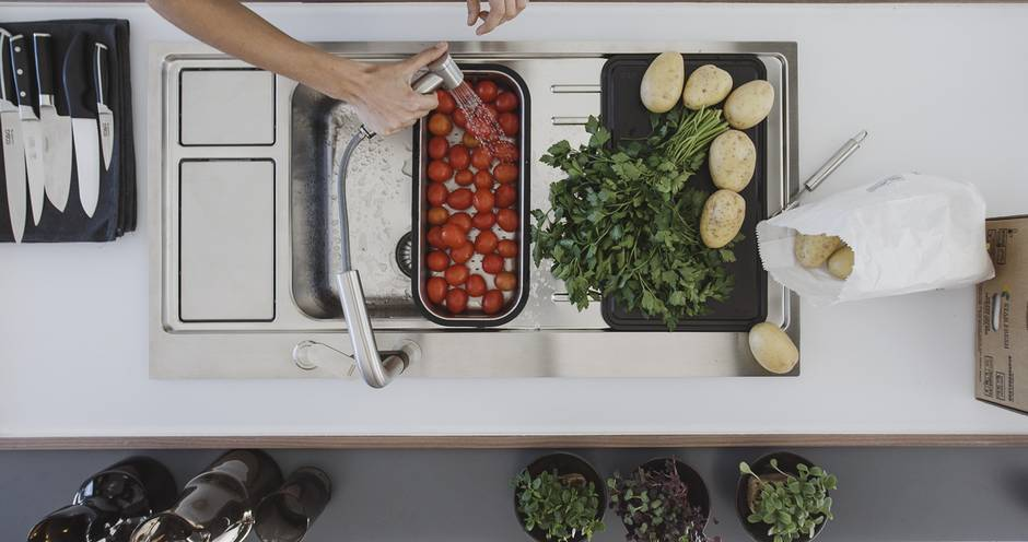 Arbeitsplatte, Küchenarbeitsplatte, Foto: bpr/Franke