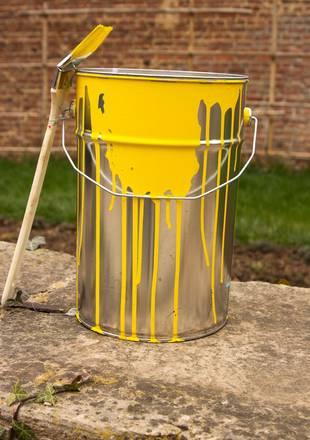 Pinsel, Farbeimer, Holzschutz, Foto: Unbreakable/fotolia.com