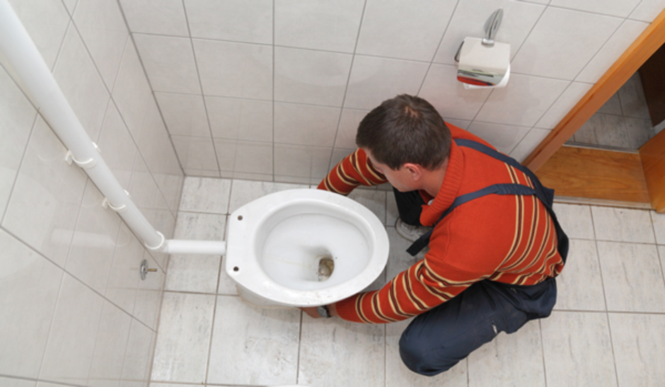 WC austauschen, Toilette, Klo, Stand-WC, Wand-WC, Hänge-WC, Anleitung.  Foto: sima/fotolia.com
