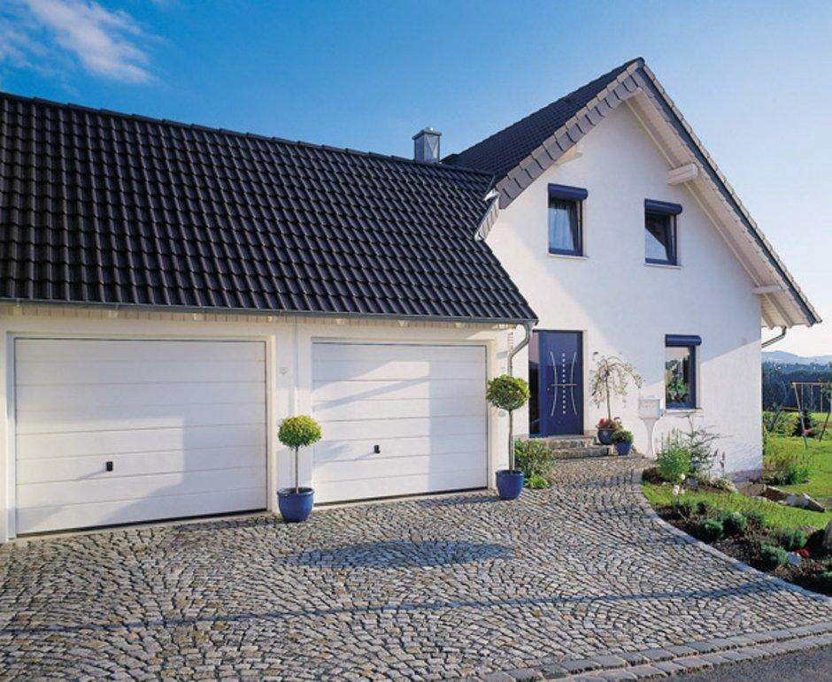 Fertiggargae, Doppelgarage, Stahlbeton, Foto: Zapf-Garagenwelt