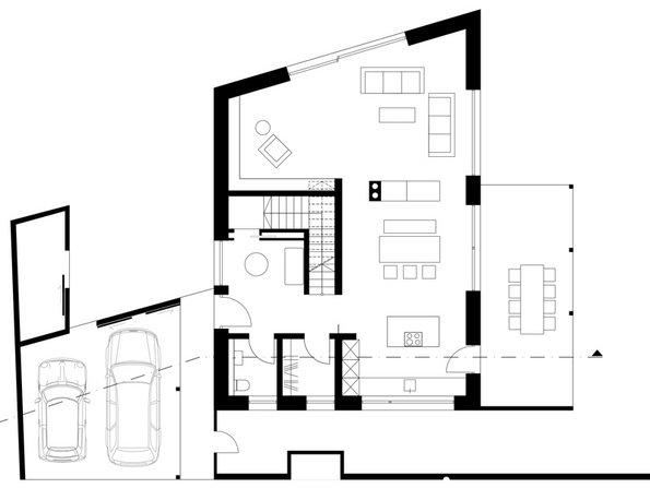 Grundriss: studio lot, Architektur/Innenarchitektur