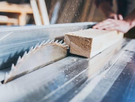 Werkstatt einrichten, Tischkreissäge, Foto: Karanov Images / fotolia.de