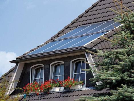 Trapezgaube, Photovoltaik, Foto: Postbank