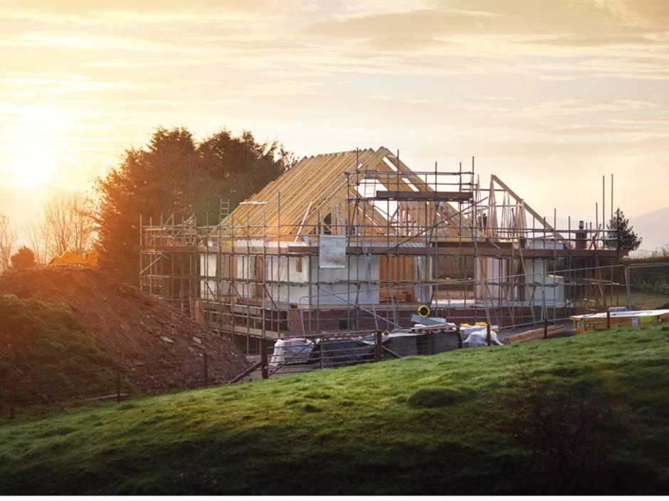 Baustelleneinrichtung, Baustelle, Eigenheim, Foto: iStock/BrianAJackson