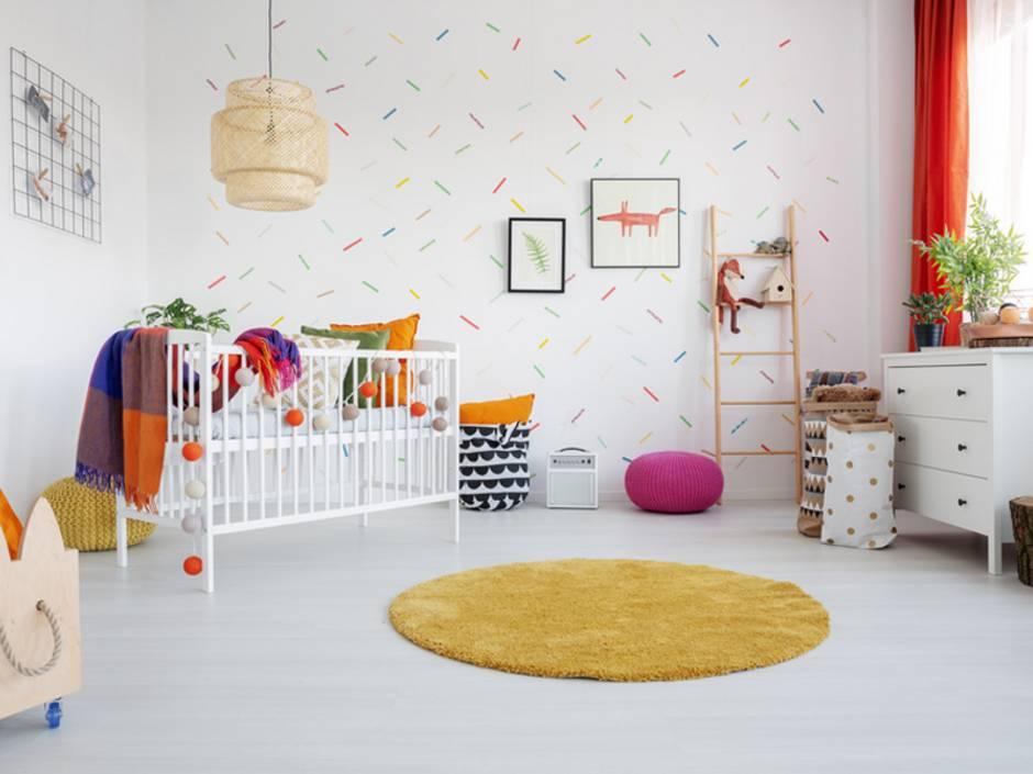 Tapezieren, Kinderzimmer, Foto: Photographee.eu / fotolia.de