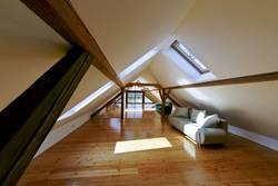 Dachausbau, Dachboden, ausgebauter Dachboden, Foto: Gerhard Führing / fotolia.de