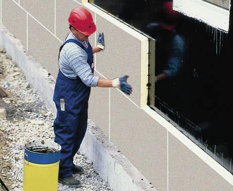 Wärmedämmverbundsystem, WDVS, Alternative, Polyurethanplatten, Foto: IVPU