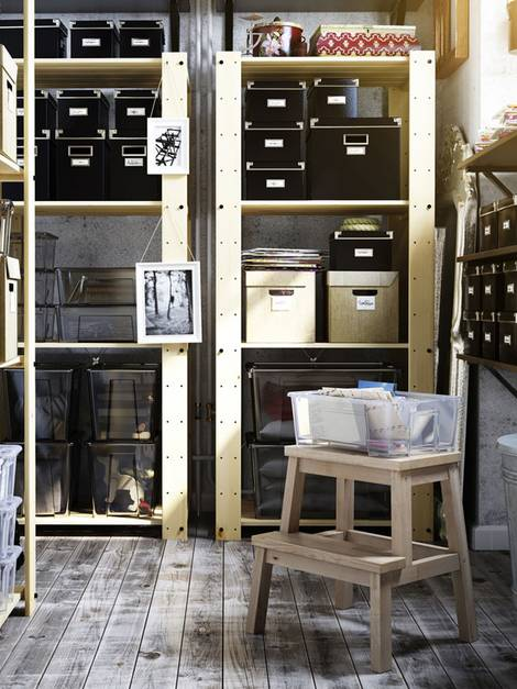 im Keller lagern, Kellerlagerung, Foto: Inter IKEA Systems B.V.