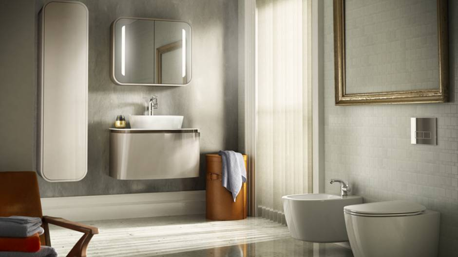 Bad renovieren, Badrenovierung, Badsanierung, Badezimmer modernisieren, Luxusbad, Foto: Ideal Standard
