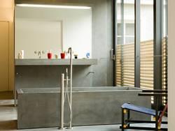 Badewanne, Material, Beton, Foto: Betonservice Süd