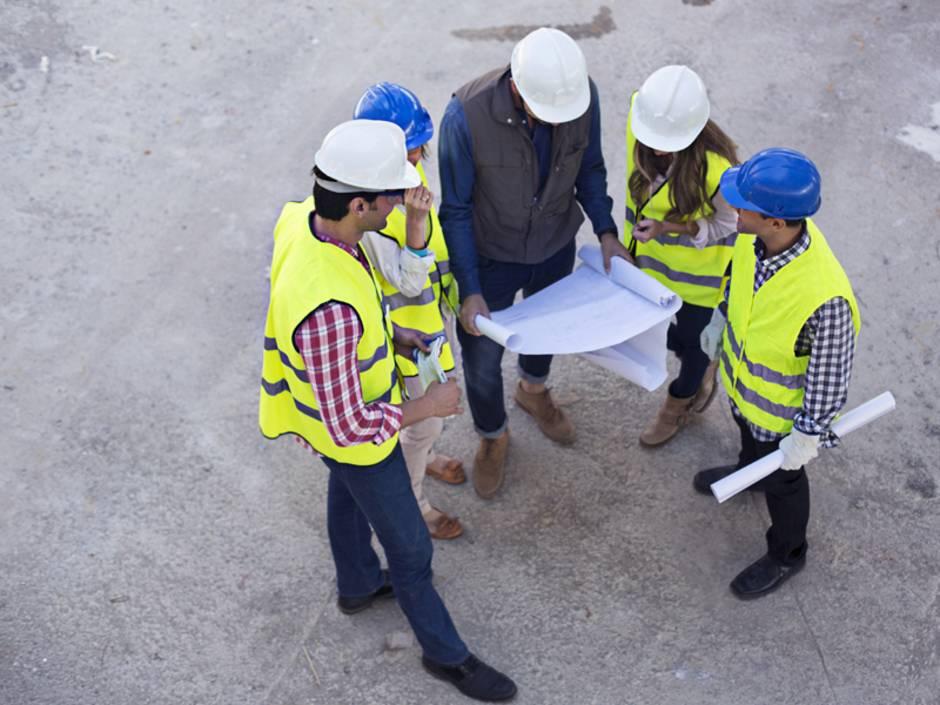 Baustelleneinrichtung, Baukoordinator, Foto: iStock/xavierarnau