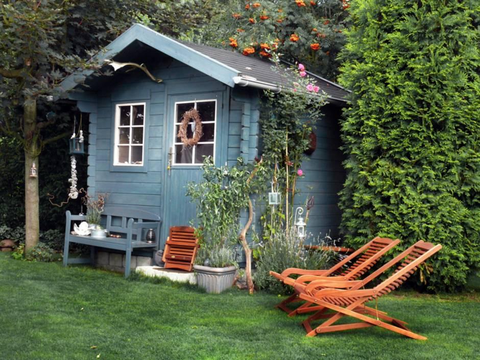 Gartenhaus, Gartenhaus Holz, Foto: iStock/ Hogogo