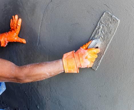 Wand verputzen, diy, selber machen, Putz abziehen, Foto: wittybear – fotolia.com