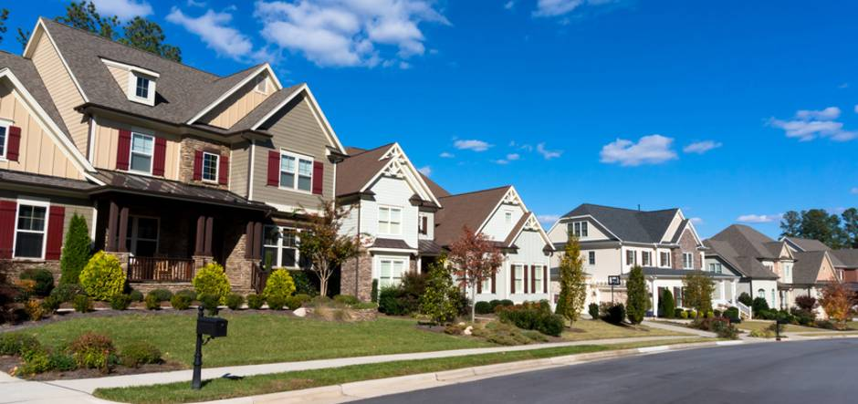Amerikanische Häuser, USA, Foto: Konstantin L - Fotolia.com