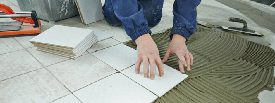 Anleitung Zum Terrassenfliesen Verlegen Bauen De