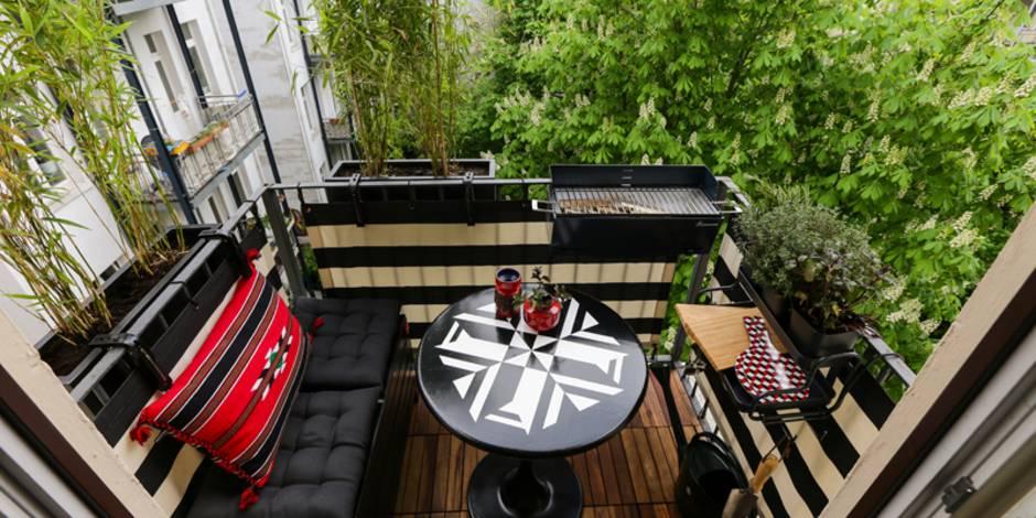 kleiner Balkon, Foto: balkongestalter.de