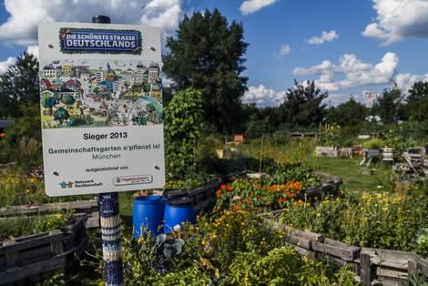 o'pflanzt is!, München, Urban Gardening, Auszeichnung. Foto: Thomas Degen / o-pflanzt-is.de