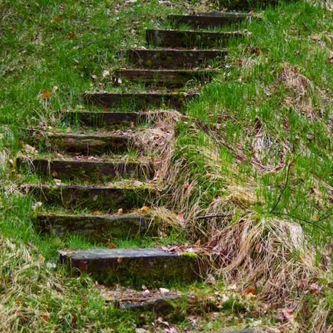 Außentreppe bauen, Einfassung, Foto: silbru.dd - Fotolia.com