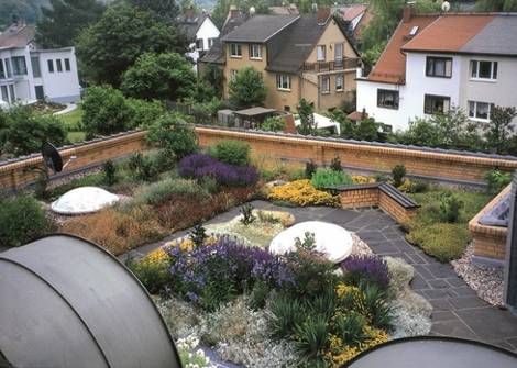 Dachgarten, Foto: ZinCo GmbH