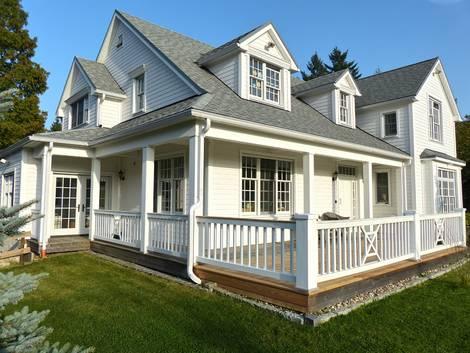 Amerikanische Häuser, Dachgaube, Gaube, Giebel, Dachschindeln, Foto: The White House