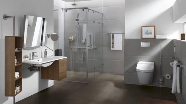 Bad renovieren, Badrenovierung, Badsanierung, Badezimmer modernisieren, Fliesen, Foto: Vereinigung Deutsche Sanitärwirtschaft (VDS), Glamue