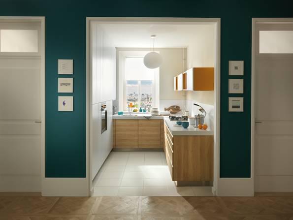 Küche, schmale Küche, Foto: SCHMIDT Küchen