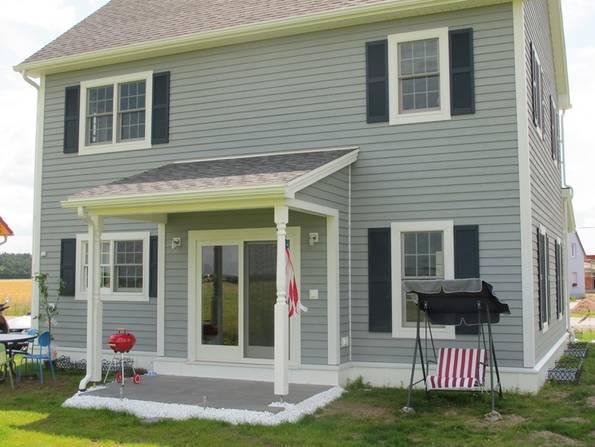 Amerikanische Häuser, Cape Cod, Baustil, Foto: BostonHaus